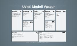 Copy of Üzleti modell vászon - sablon