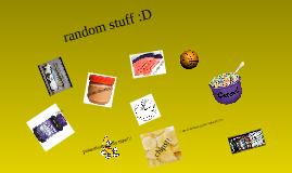 random things that interest me!
