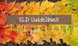 ELD Guidelines