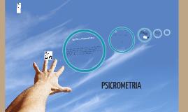 PSICROMETRIA Alicia