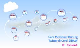 Cara Membuat Burung Twitter di Corel DRAW