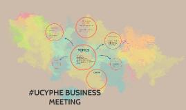 #UCYPHE BIZ MEETING