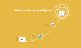 Welcome to Integrated Algebra!