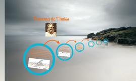 Teorema de Thales de Mileto