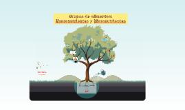 Grupos de alimentos: Macro y micronutrientes