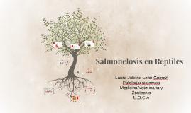 Salmonelosis en Reptiles