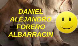 DANIEL ALEJANDRO FORERO ALBARRACIN