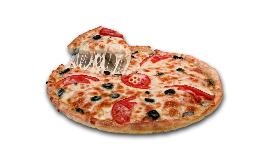 Olive & Tomato Pizza