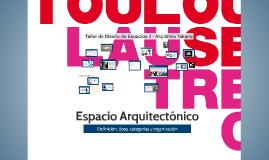 Copy of Espacio Arquitectónico