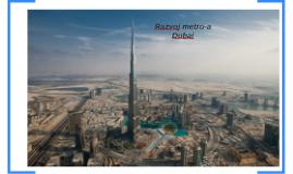 Razvoj metroa Dubai