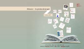 Copy of Mémoire