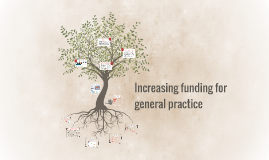 Increasing funding for general practice