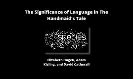 The Handmaid's Tale Through Language