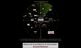 LA APARICIÓN DE LAS MÁQUINAS INFORMÁTICAS