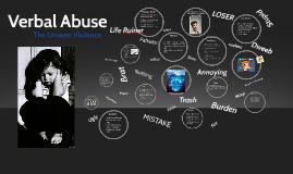 Copy of Verbal Abuse