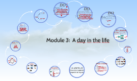 Module 3:  A day in the life