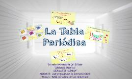 Copy of La Tabla Periodica