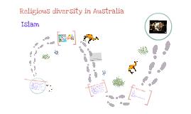 Religious diversity in Australia- Islam