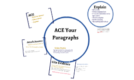 ACE your Paragraphs