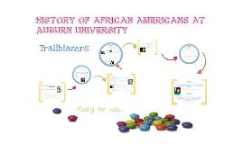 Copy of History of Blacks at Auburn