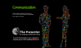 Copy of Prezi Template - Communication