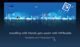 MHbuddy on Malaysia Airlines Facebook