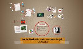 Social Media für mein soziales Projekt