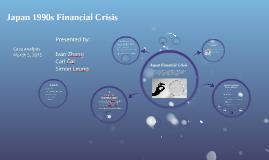 Japan 1990s Financial Crisis