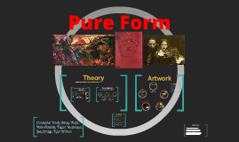 Copy of Pure Form - Witkacy