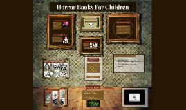 Horror Books For Childrens