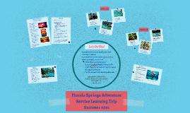 Copy of VCU Florida Springs Adventure SL Trip 2016
