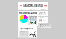 CAMPAIGN FINANCE OUTLINE