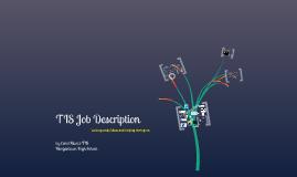 Job Description for TIS-cmuniz