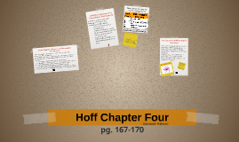 Hoff Chapter Four