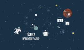 TÉCNICA REPERTORY GRID