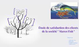 Copy of Etude de satisfaction des étudiants de la licence profession