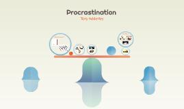 Copy of Procrastination