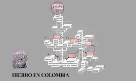 HIERRO EN COLOMBIA