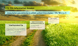 CTS TPA Information Session