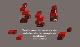 To what extent do reason and emotion alter our perception of