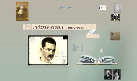 JÓZSEF ATTILA     1905-1937