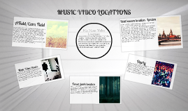 My Music Video Locations