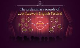 2014 Itaewon English Festival