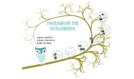 Copy of paramos de colombia