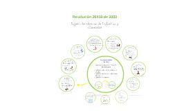 Resolución 26930 de 2000