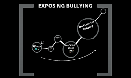 Exposing Bullying
