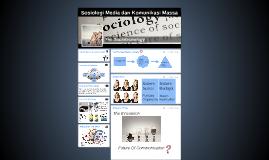 Sosiologi Media dan Komunikasi Massa
