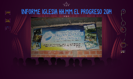Informe Iglesia HH.MM El Progreso 2014