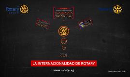 Internacionalidad de Rotary