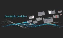 Suavizado de datos